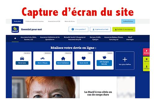 Accéder à macif.fr espace clients
