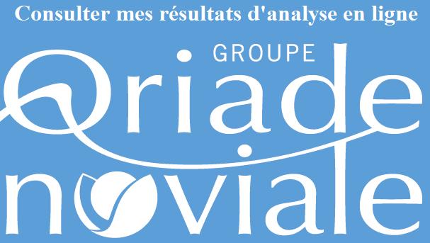 www.oriade-noviale.fr mes résultats d'analyse