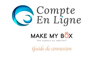 Accès sur www.make-my-box.com