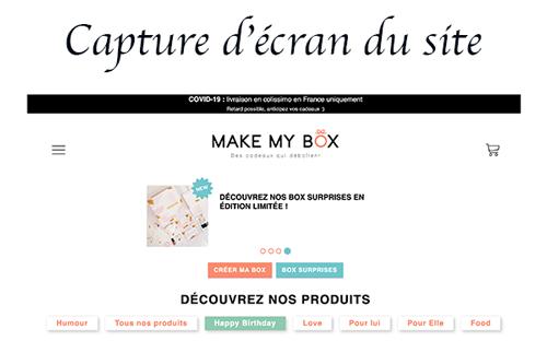 make-my-box.com connexion