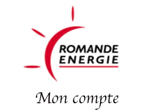 Accéder au compte Romande Energie