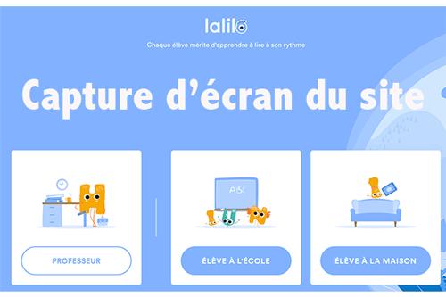 app.lalilo.com élève à la maison
